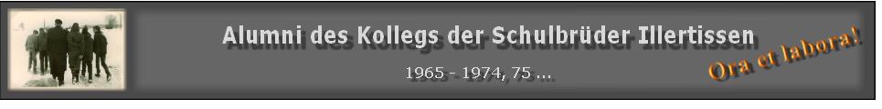Alumni des Kollegs der Schulbrüder Illertissen